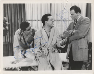 LET'S ROCK MOVIE CAST - AUTOGRAPHED SIGNED PHOTOGRAPH CO-SIGNED BY: CONRAD JANIS, JULIUS LA ROSA