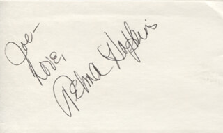 Autographs: TELMA HOPKINS - AUTOGRAPH NOTE SIGNED