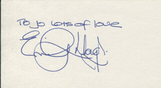 EMILY LLOYD - AUTOGRAPH NOTE SIGNED