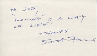 SCOTT FERACO - AUTOGRAPH NOTE SIGNED