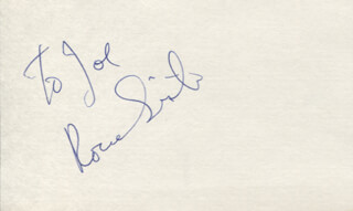 RON SILVER - INSCRIBED SIGNATURE