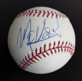 Autographs: MEADOWLARK LEMON - BASEBALL SIGNED