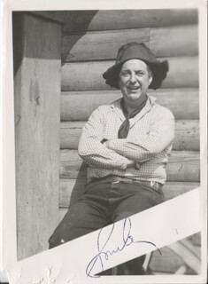 SMILEY (LESTER) BURNETTE - AUTOGRAPHED SIGNED PHOTOGRAPH