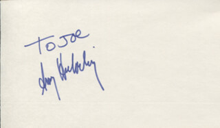 AMY HECKERLING - INSCRIBED SIGNATURE