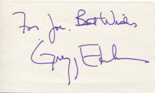 GREGG EDELMAN - AUTOGRAPH NOTE SIGNED