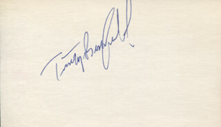 TIMOTHY BUSFIELD - AUTOGRAPH