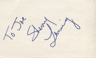 SHERRY LANSING - INSCRIBED SIGNATURE