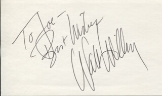 WALT WILLEY - AUTOGRAPH NOTE SIGNED