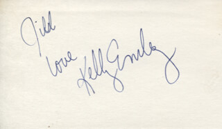 KELLY EMBERG - AUTOGRAPH NOTE SIGNED
