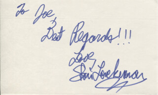 STACI KEANAN - AUTOGRAPH NOTE SIGNED