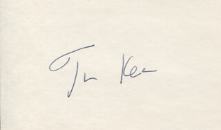GOVERNOR THOMAS H. KEAN - AUTOGRAPH