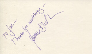 YASMINE BLEETH - AUTOGRAPH NOTE SIGNED