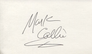 Autographs: MARK COLLIE - SIGNATURE(S)