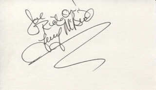 MCBRIDE AND THE RIDE (TERRY MCBRIDE) - AUTOGRAPH NOTE SIGNED
