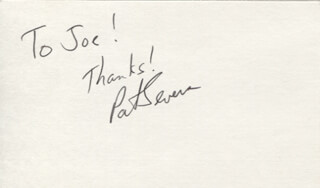PIRATES OF THE MISSISSIPPI (PAT SEVERS) - AUTOGRAPH NOTE SIGNED