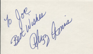 SUZY AMIS - AUTOGRAPH NOTE SIGNED  - HFSID 346931