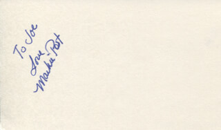 MARKIE POST - AUTOGRAPH NOTE SIGNED