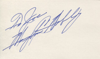 MARY ANN MOBLEY - INSCRIBED SIGNATURE