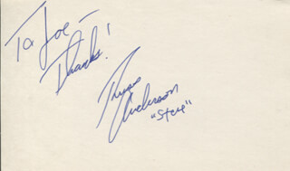 RUSS ANDERSON - AUTOGRAPH NOTE SIGNED