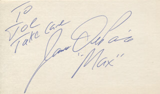 JAMES DEPAIVA - AUTOGRAPH NOTE SIGNED