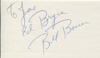EDWARD ED BRYCE - AUTOGRAPH NOTE SIGNED