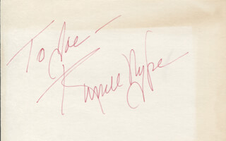 RUSSELL NYPE - INSCRIBED SIGNATURE
