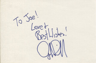 JUDGE REINHOLD - AUTOGRAPH NOTE SIGNED