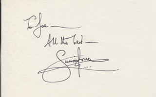 SIMON JONES - AUTOGRAPH NOTE SIGNED