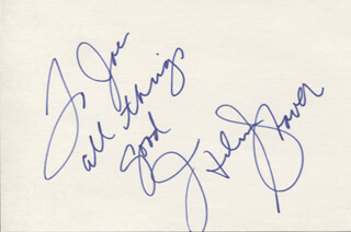 HELEN SHAVER - AUTOGRAPH NOTE SIGNED