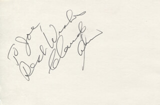 CLAUDE AKINS - AUTOGRAPH NOTE SIGNED