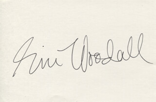 ERIC WOODALL - AUTOGRAPH