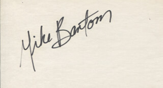 MIKE BANTOM - AUTOGRAPH