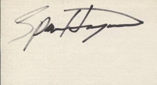 SPENCER HAYWOOD - AUTOGRAPH