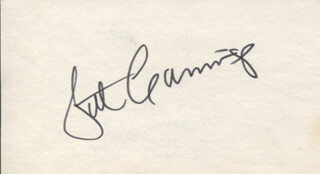 PATRICK CUMMINGS - AUTOGRAPH