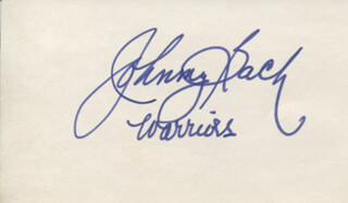 JOHNNY BACH - AUTOGRAPH