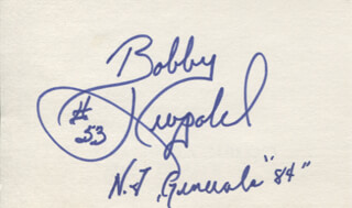 BOBBY LEOPOLD - AUTOGRAPH