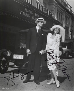 THOROUGHLY MODERN MILLIE MOVIE CAST - AUTOGRAPHED SIGNED PHOTOGRAPH CO-SIGNED BY: JOHN GAVIN, MARY TYLER MOORE