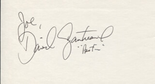 DAVID GAUTREAUX - INSCRIBED SIGNATURE