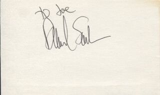 DAVID SANBORN - INSCRIBED SIGNATURE
