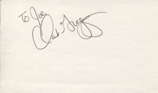 CLARK GREGG - INSCRIBED SIGNATURE