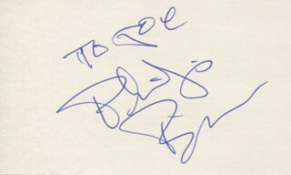 PHILIP BROWN - INSCRIBED SIGNATURE