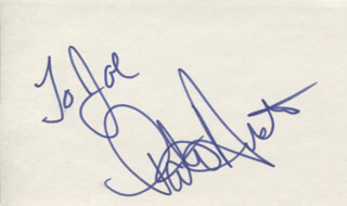 PATTI AUSTIN - INSCRIBED SIGNATURE