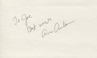 ANNE ARCHER - AUTOGRAPH NOTE SIGNED