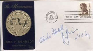 CHARLES GOODELL - FIRST DAY COVER SIGNED CO-SIGNED BY: JACOB K. JAVITS
