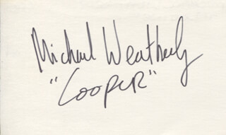 MICHAEL WEATHERLY - AUTOGRAPH