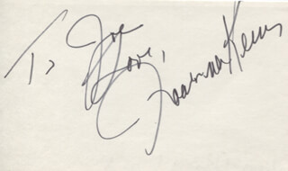JOANNA KERNS - AUTOGRAPH NOTE SIGNED