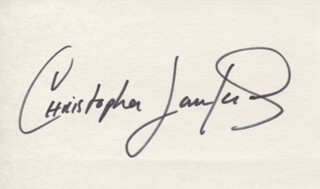 CHRISTOPHER LAWFORD - AUTOGRAPH