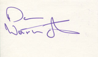 DON WARRINGTON - AUTOGRAPH