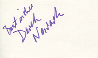DEREK NEWARK - AUTOGRAPH SENTIMENT SIGNED