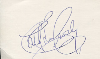 CATHY LEE CROSBY - AUTOGRAPH